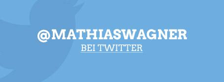 Mathias Wagner bei twitter