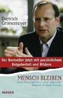 """Cover des Buches von Grönemeyer """"Mensch bleiben"""""""